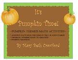 It's Pumpkin Time!  {Math Centers}