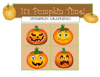 It's Pumpkin Time!  {Math Centers}