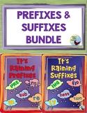 Prefix & Suffix Graphic Organizer Bundle Great for Gen ED ESL SPED