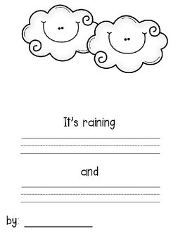 It S Raining Cats And Dogs Silly Sentence Classbook For K To 1 Tpt