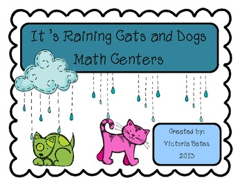 Its Raining Cats and Dogs Math Centers