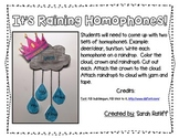 It's Raining Homophones