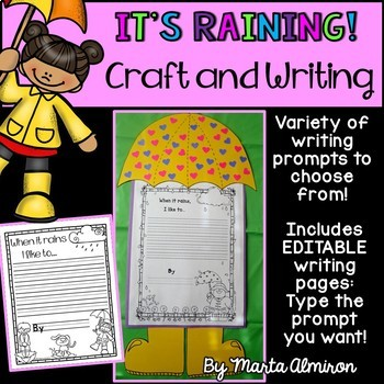 It's Raining! It's Pouring! Craft and Activities for the Rainy Season