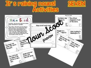 All About Nouns * BUNDLED* includes Activities and Power Point lessons