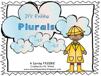 It's Raining Plurals {-s, -es, -ies}