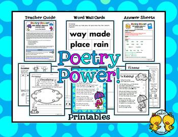 Poem of the Week: It's Raining Poetry Power!
