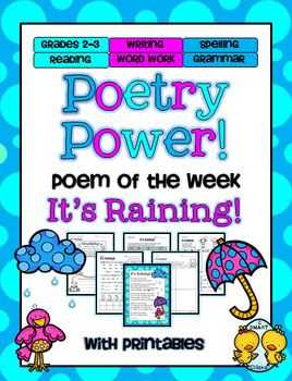 It's Raining Poetry Power! Daily Literacy Practice