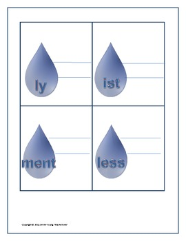 It's Raining Suffixes and Prefixes