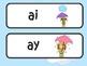 It's Raining Today /ai/ /ay/ Word Work Center