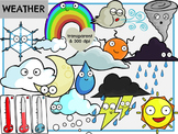 Weather (Digital Clip Art)