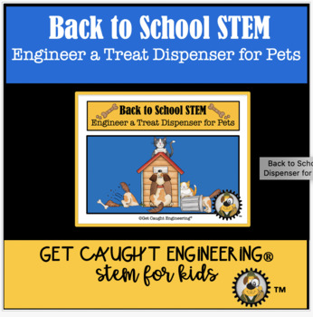 STEM Time: Engineer a Pet Treat Dispenser System
