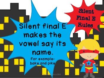 It's Silent Final E! {word work}