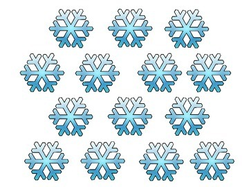 It's Snow Secret We are Wonderful Writers.Snowflakes Writing Bulletin Board Idea