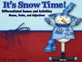 It's Snow Time! A Differentiated Learning Game (Nouns, Verbs, Adjectives)