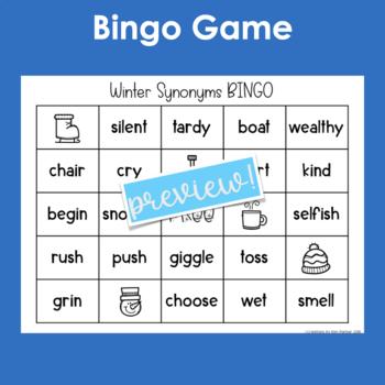 Synonym Games