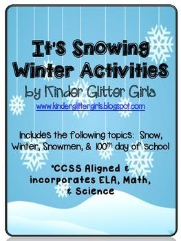 It's Snowing Winter Activities
