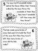 It's Snowing Word Problem Task Cards to 100