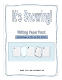 It's Snowing Writing Paper Pack