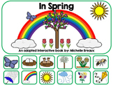 It's Spring! Adapted Interactive Book {Autism, Special Ed,