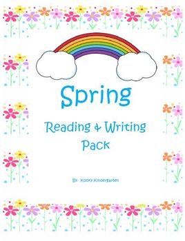 It's Spring Differentiated Language Arts, Writing, and Reading Pack