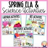 BUTTERFLIES, LADYBUGS, AND BEES Activities for Kindergarte