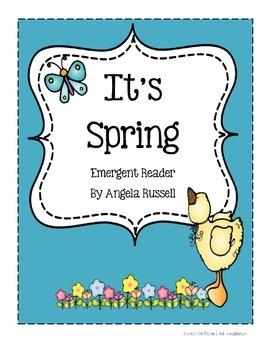 Spring ~ Emergent Reader