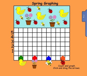 It's Spring!  Interactive Smartboard Activities for K-1 (30 pages)