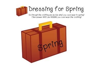"""""""It's Spring"""" Language Packet!"""