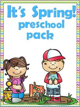 It's Spring! Preschool Pack