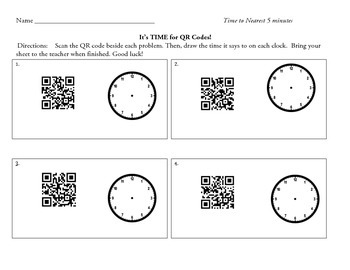 It's TIME for QR Codes!
