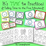 It's 'TIME' to Practice! Activities for Telling Time to the Five Minutes
