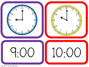 It's 'TIME' to Practice! - Activities for Telling Time to the Hour