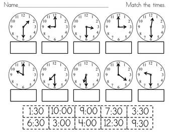 It's 'TIME' to Practice! - Activities for Telling Time to ...