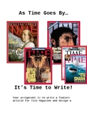 It's TIME to Write a Feature Article
