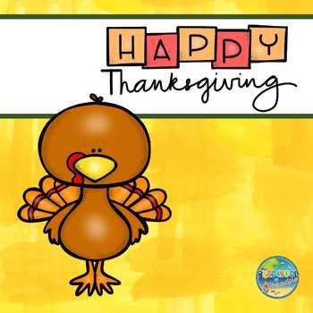 It's Thanksgiving Time in Preschool