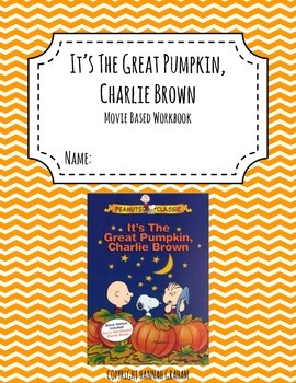 It's The Great Pumpkin, Charlie Brown Activity Book