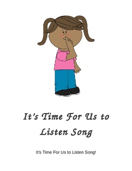 It's Time For Us To Listen Song!