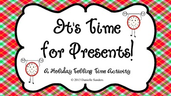 It's Time for Presents! - Telling Time Activity