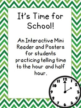 It's Time for School Interactive Mini Reader