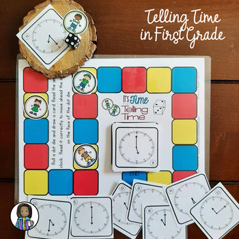 It's Time for Telling Time: Time to the Hour & Half Hour for Firsties