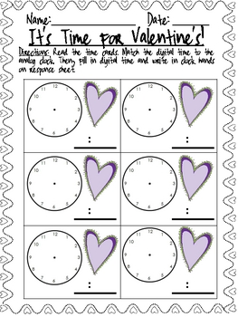 It's Time for Valentines FREEBIE!