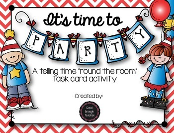 It's Time to Party - telling time round the room