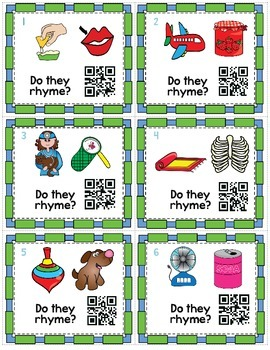 It's Time to Rhyme! {Rhyming Packet}