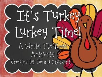 It's Turkey Lurkey Time!