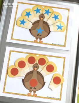 Thanksgiving Turkey Activities for Preschool andk PreK