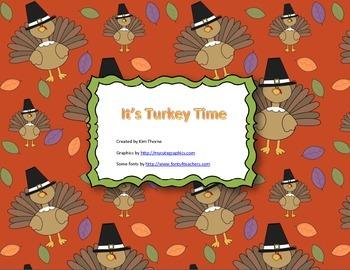 It's Turkey Time Happy Thanksgiving