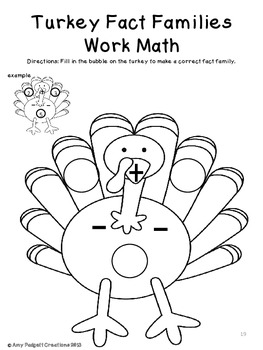 It's Turkey Time: Math, ELA, Crafts, and more!