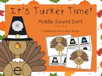 Its Turkey Time! Middle Sound Sort