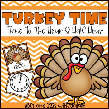 It's Turkey Time! {time to the hour/half hour}