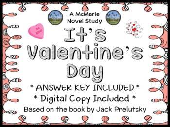 It's Valentine's Day (Jack Prelutsky) Book Study / Reading